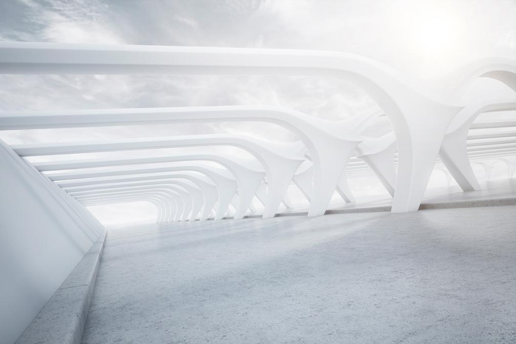 Das ist eine 3D-Visualisierung zum Thema Architektur aus dem Portfolio CGI / 3D Design von Mediadesign OK Nürnberg