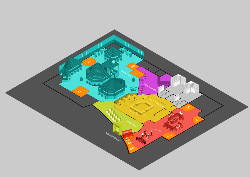 Das ist eine Grafikgestaltung zum Thema Illustration aus dem Portfolio Grafikdesign von Mediadesign OK Nürnberg