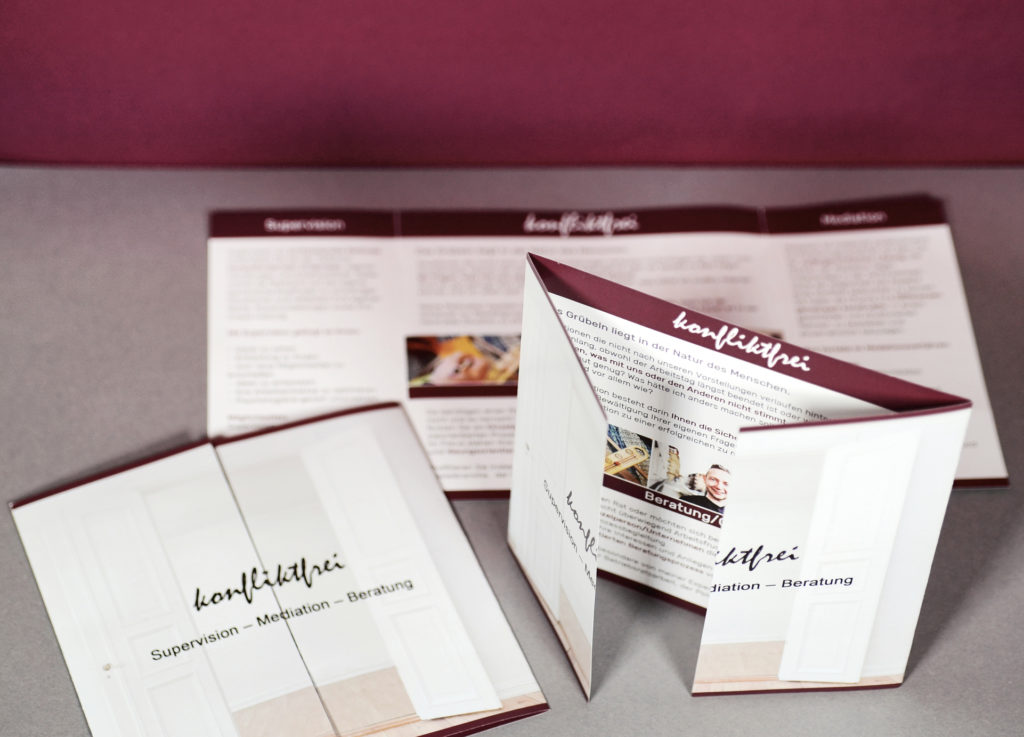 Das ist eine Grafikgestaltung zum Thema Print aus dem Portfolio Grafikdesign von Mediadesign OK Nürnberg