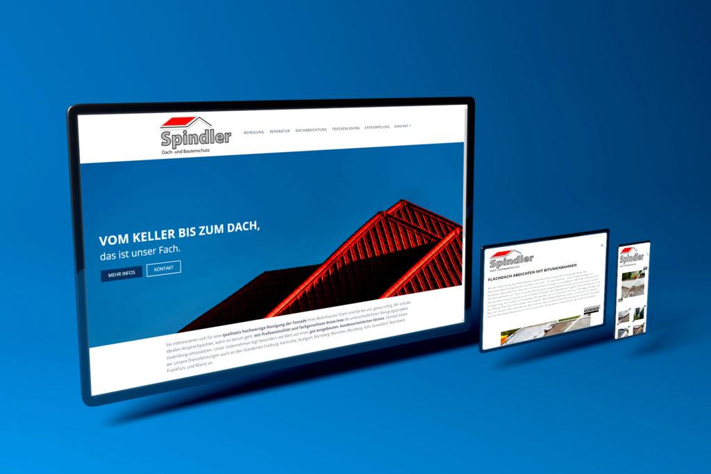Das ist eine Webseitengestaltung aus dem Portfolio Web Design von Mediadesign OK Nürnberg